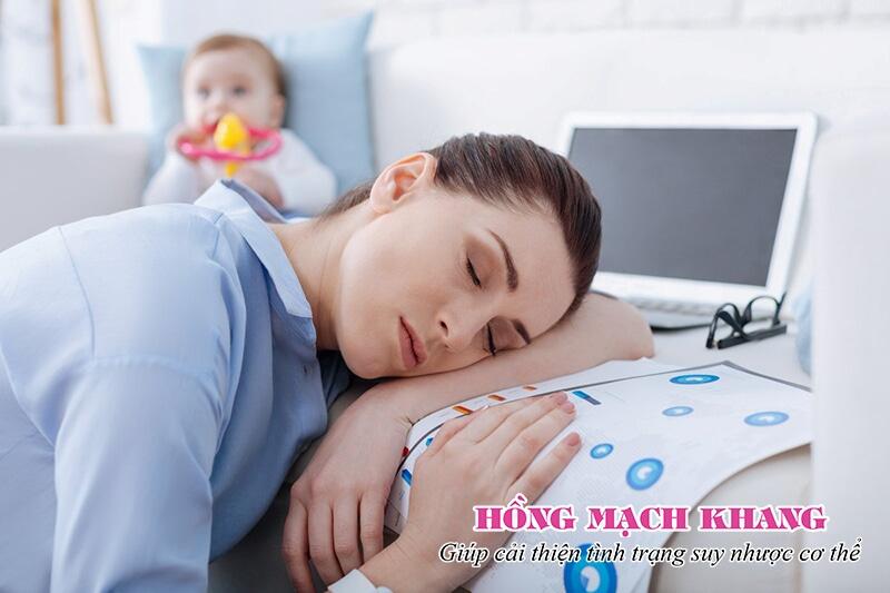Suy nhược cơ thể sau sinh là nỗi ám ảnh của các bà mẹ